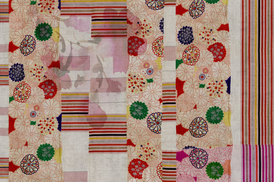 Kimono Harumi by GLAMORA | Bespoke wall coverings