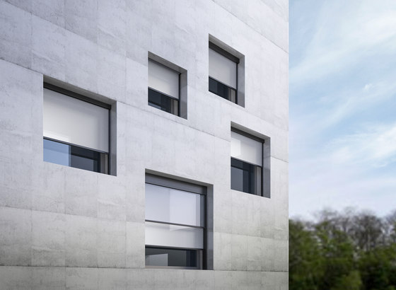 Click Zip Naked by GIBUS | Facade systems