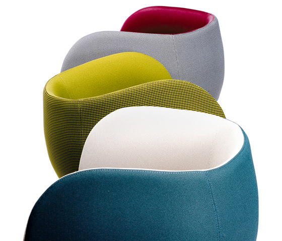 Mousse P Poltrona von CHAIRS & MORE | Sessel