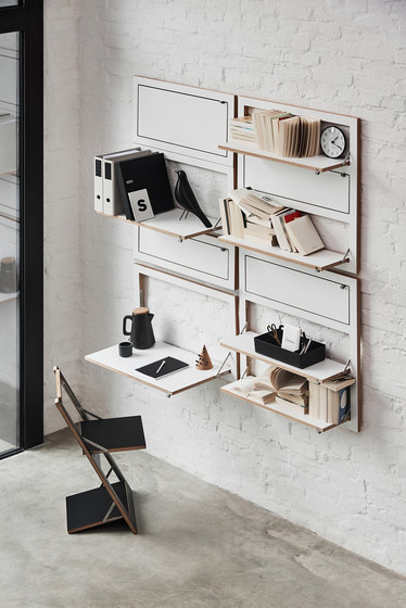 Fläpps System by Ambivalenz | Wall storage systems