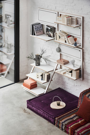 Fläpps System by Ambivalenz   Wall storage systems