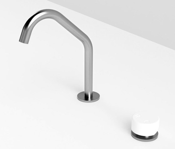 Spout and remote control for basin by Rexa Design | Wash basin taps