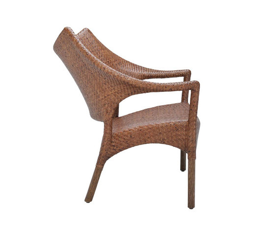 AMARI RATTAN LOW BACK LOUNGE CHAIR by JANUS et Cie | Armchairs