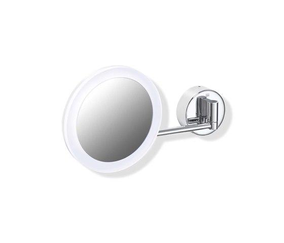 Kosmetikspiegel, beleuchtet   950.01.226 von HEWI   Badspiegel