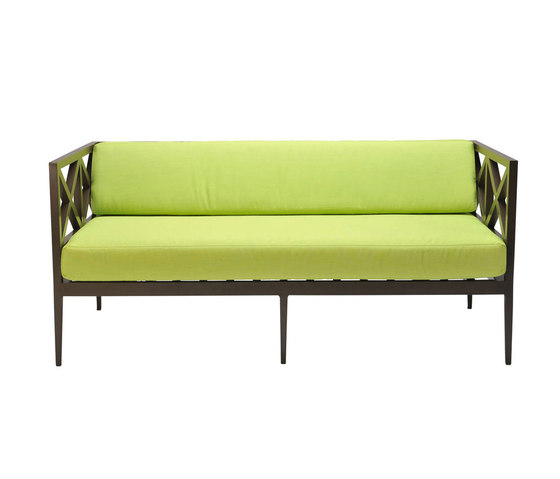 AZIMUTH CROSS LOUNGE SETTEE by JANUS et Cie | Sofas