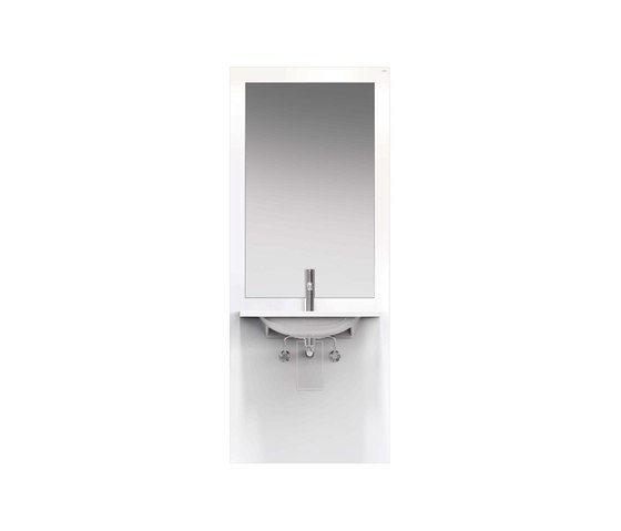 Washbasin module | S50.01.302010 by HEWI | Bath shelving