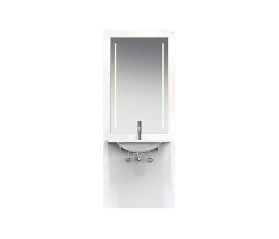 Washbasin module | S50.01.312010 by HEWI | Bath shelving