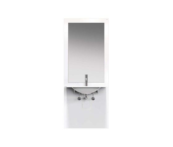 Washbasin module | S50.01.402010 by HEWI | Bath shelving