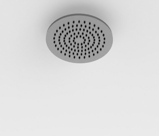 Inspectional round or squared shower head by Rexa Design | Shower controls