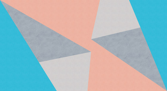 Polygons di Inkiostro Bianco | Carta parati / tappezzeria