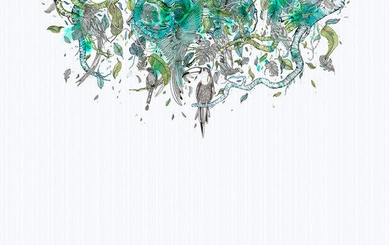 Tropic von Inkiostro Bianco | Wandbeläge / Tapeten
