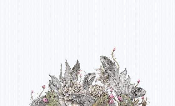 Iguanas de Inkiostro Bianco | Revestimientos de paredes / papeles pintados