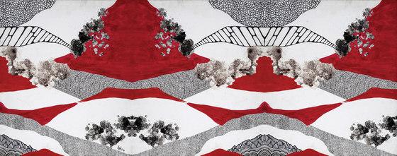 Scarlet Terrain de Inkiostro Bianco | Revestimientos de paredes / papeles pintados