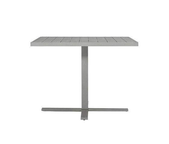 DUO CAFE TABLE RECTANGLE 95 di JANUS et Cie | Tavoli pranzo