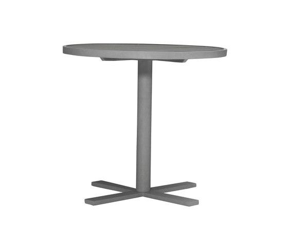 DUO CAFE TABLE ROUND 78 de JANUS et Cie | Tables de repas