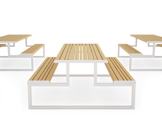 VENTIQUATTRORE.H24 TAVOLO PICNIC di Diemmebi | Tavoli e panche
