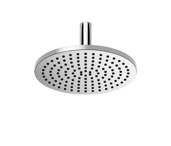 Rounded Generic - Rain shower with ceiling fixing by Dornbracht | Shower controls