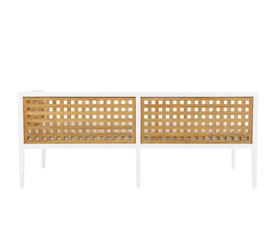 HATCH MODULE 2 SEAT LEFT de JANUS et Cie | Sofás
