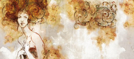Capriccio de Inkiostro Bianco | Revestimientos de paredes / papeles pintados