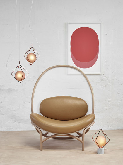 Chips lounge chair by TON | Armchairs