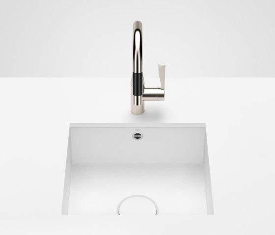 Kitchen sink in glazed steel - Einzelbecken von Dornbracht | Küchenspülbecken
