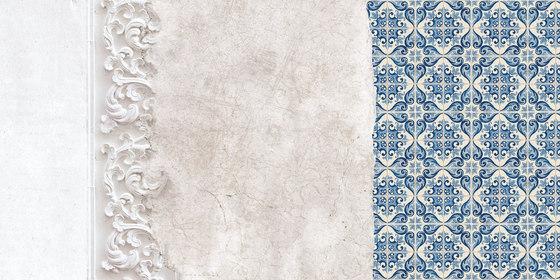 Ornamenta di Inkiostro Bianco | Carta parati / tappezzeria