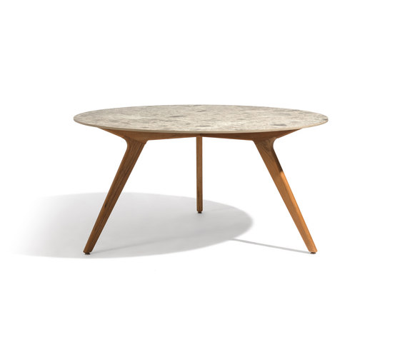 Torsa dining table ⌀148 de Manutti | Mesas comedor