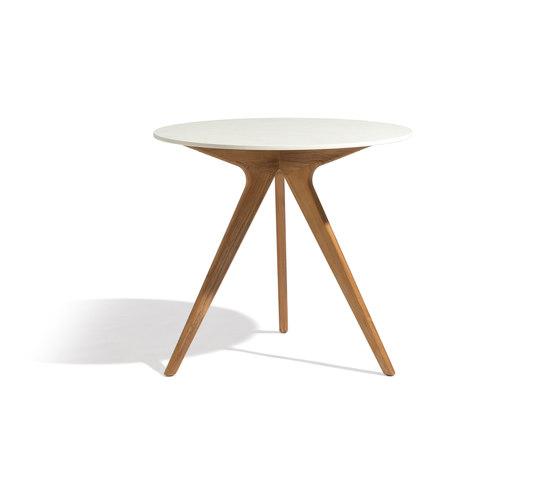 Torsa dining table ⌀148 de Manutti | Mesas de bistro