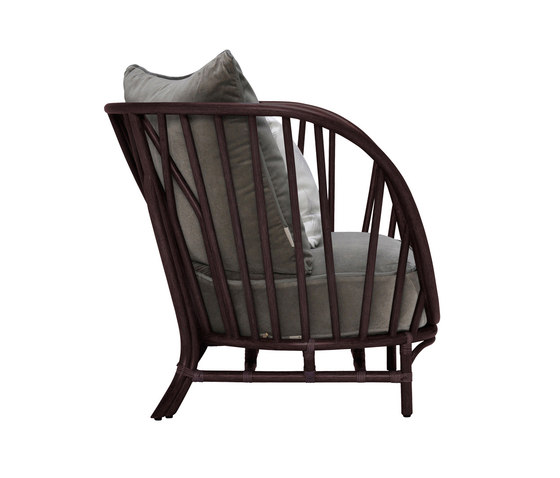KYOTO RATTAN LOUNGE CHAIR by JANUS et Cie | Armchairs