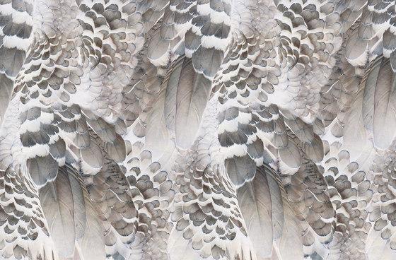 Wings di Inkiostro Bianco | Carta parati / tappezzeria