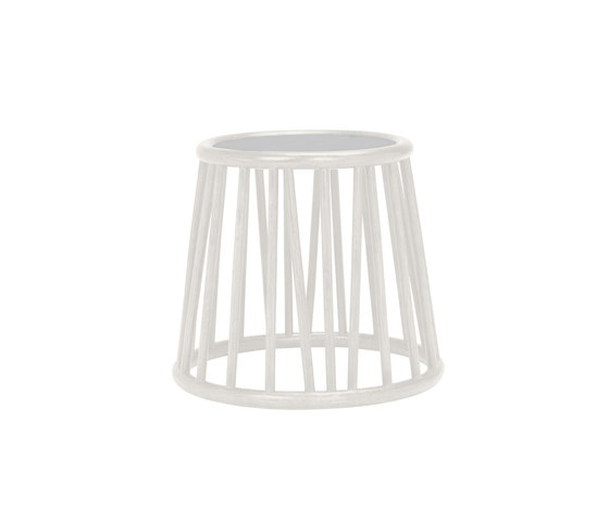 KYOTO RATTAN SIDE TABLE ROUND 51 by JANUS et Cie   Side tables