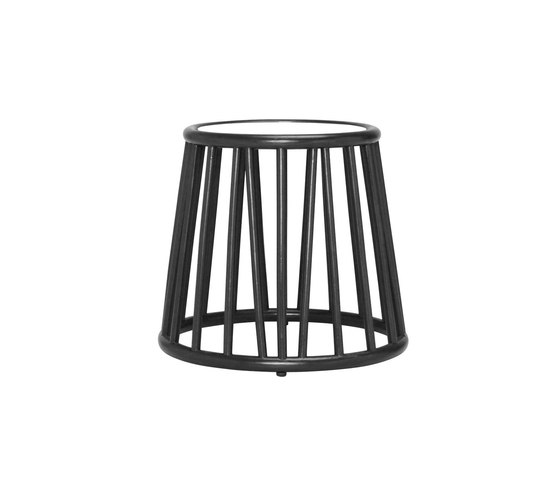KYOTO RATTAN SIDE TABLE ROUND 51 by JANUS et Cie | Side tables