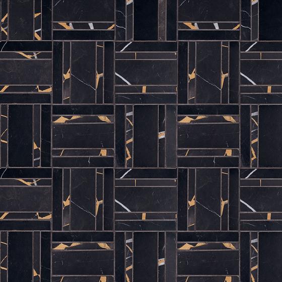 Kintsugi Oru by Claybrook Interiors Ltd. | Natural stone tiles