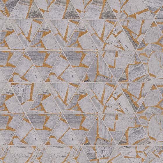 Kintsugi Sankakkei von Claybrook Interiors Ltd. | Naturstein Fliesen