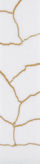 Kintsugi White Thassos Tiles de Claybrook Interiors Ltd. | Dalles en pierre naturelle