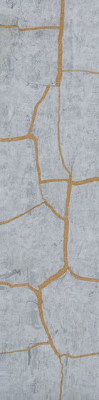 Kintsugi Blue Forest Tiles di Claybrook Interiors Ltd. | Piastrelle pietra naturale