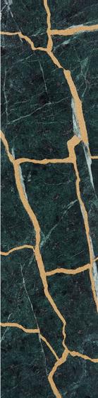 Kintsugi Verde Tiles by Claybrook Interiors Ltd. | Natural stone tiles