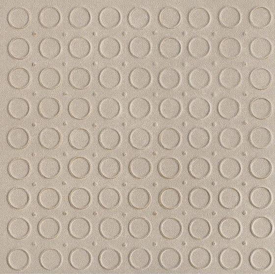 Karman Ceramica Decorata Singolo Geometrico Sabbia by EMILGROUP | Ceramic tiles