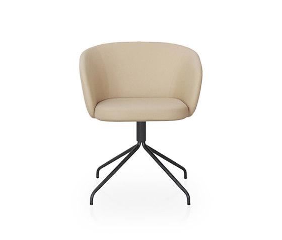 Huma sillón giratorio de Expormim | Sillas