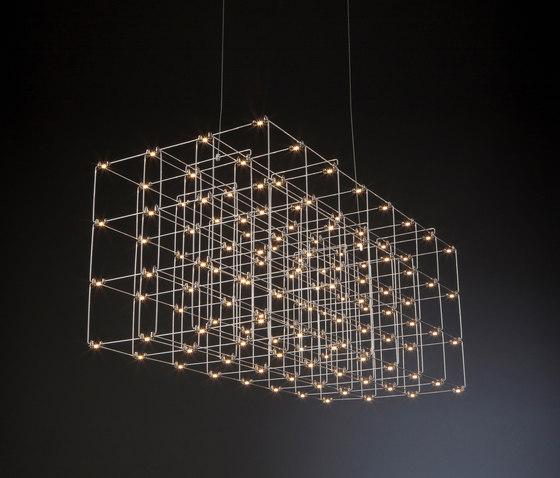 Cosmos Square Triple de Quasar | Lámparas de suspensión