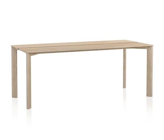 Kotai mesa rectangular alta de Expormim | Mesas comedor