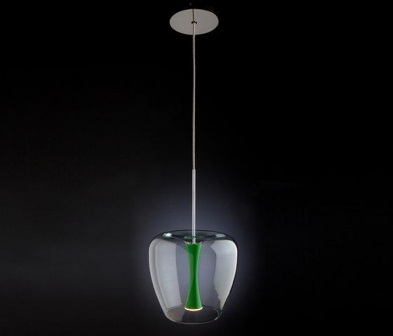 Apple Mood Suspension de Quasar | Lámparas de suspensión