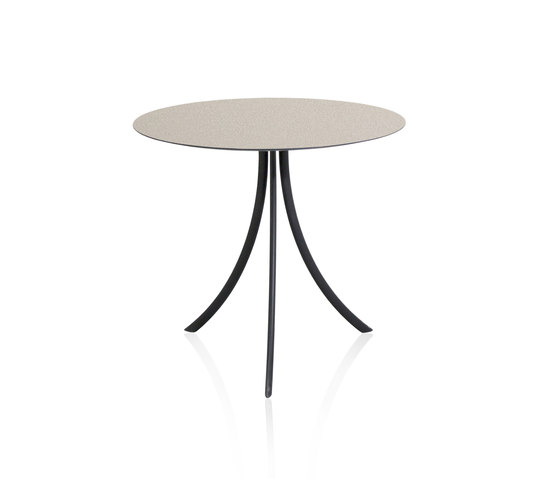 Bistro Outdoor Dining table stand with round top di Expormim | Tavoli bistrò