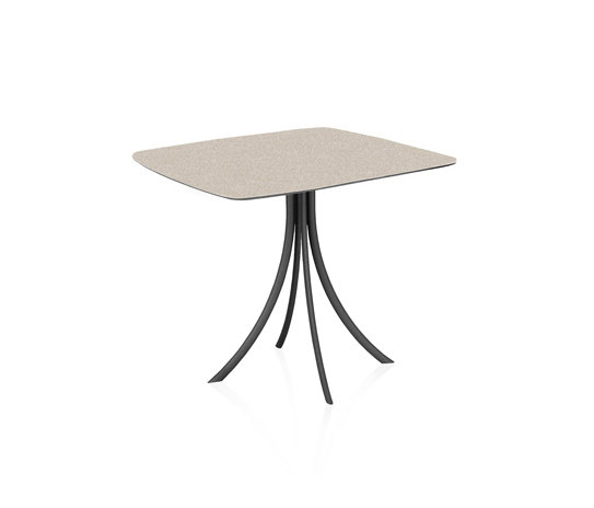 Bistro Outdoor Dining table stand with elliptical top di Expormim | Tavoli bistrò