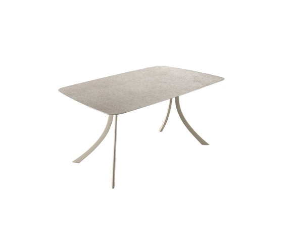 Falcata Outdoor rectangular dining table by Expormim | Dining tables