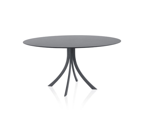 Falcata Outdoor round dining table di Expormim | Tavoli pranzo