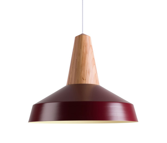 Eikon Circus Bamboo Burgundy by SCHNEID | Suspended lights