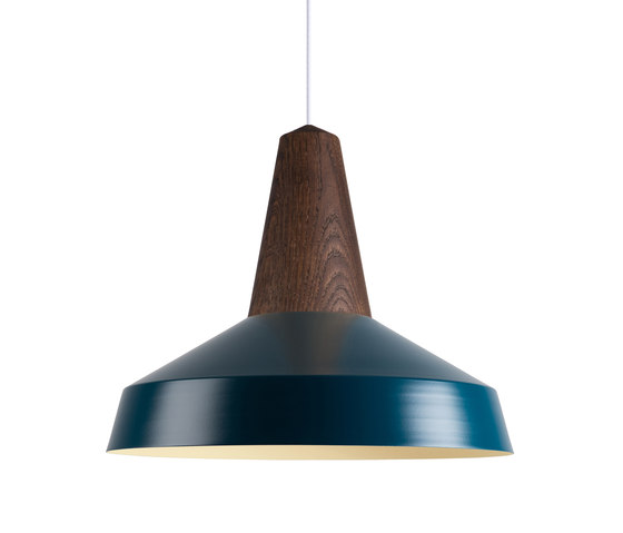 Eikon Circus Smoked Oak Peacock by SCHNEID | Suspended lights