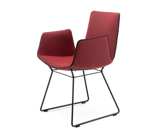 Amelie | Armchair with wire frame by FREIFRAU MANUFAKTUR | Chairs