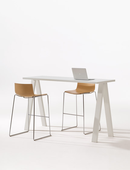 Cross Table by Arper | Standing tables